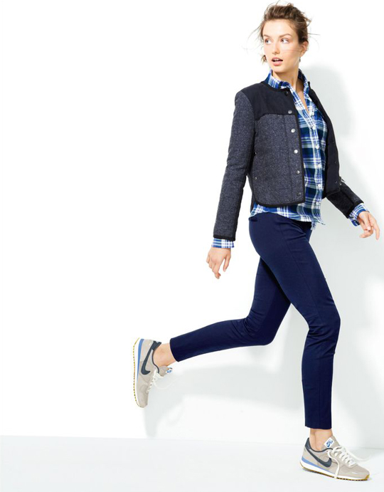 J. Crew does edgy
